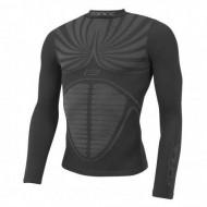 Bluză ciclism FORCE Thunder neagră