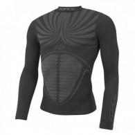 Bluză ciclism FORCE Thunder neagră mărime L-XL