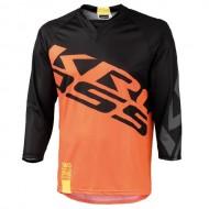 Bluză ciclism enduro KROSS Hyde portocaliu