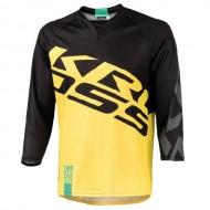 Bluză ciclism enduro KROSS Hyde galben