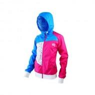 Jachetă ciclism IXS X-Sancy albastru/roz mărime 36
