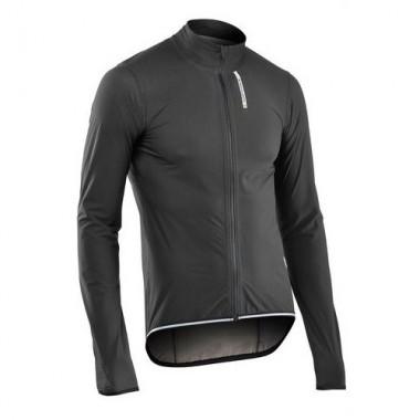 Jachetă ciclism ploaie NORTHWAVE Rainskin Shield negru mărime M