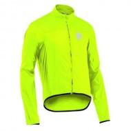 Jachetă ciclism ploaie NORTHWAVE Breeze 2 fluorescent mărime M