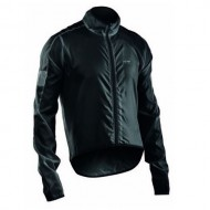Jachetă ciclism vânt NORTHWAVE Vortex negru mărime L