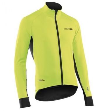 Jachetă ciclism toamnă/primăvară NORTHWAVE Extreme H2O fluorescent mărime L