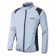 Jachetă ciclism FORCE reflectorizantă
