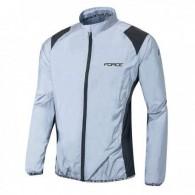 Jachetă ciclism FORCE reflectorizantă mărime L