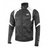 Jachetă ciclism FORCE X53 17 - negru/alb mărime M