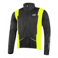 Jachetă ciclism FORCE X58 - negru/fluo
