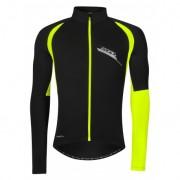 Jachetă ciclism FORCE Zoro - negru/fluo mărime L
