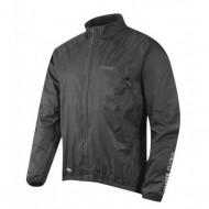 Jachetă ciclism FORCE X64 - negru