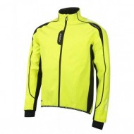 Jachetă ciclism FORCE X72 Softshell - fluo/negru