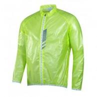 Jachetă ciclism FORCE Lightweight - verde/fluo mărime L