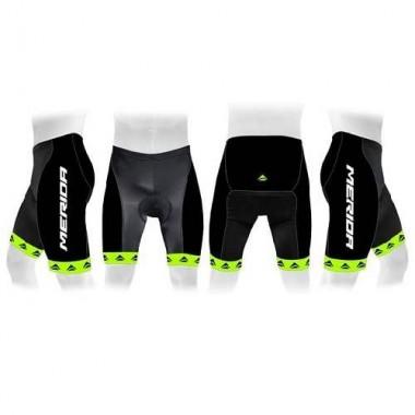 Pantaloni scurți MERIDA 376 verde/negru mărime M