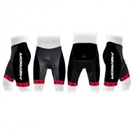 Pantaloni scurți MERIDA 376 roșu/negru