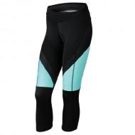 Pantaloni ciclism, trei sferturi, de damă KROSS Depart nergu/albastru