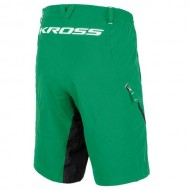 Pantaloni scurți enduro KROSS Jekyll verde