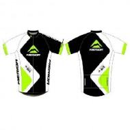 Tricou ciclism MERIDA 376 verde/ alb/negru mărime XXL