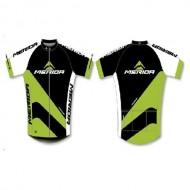 Tricou ciclism MERIDA  Sport1 verde/negru