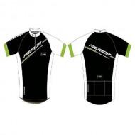 Tricou ciclism damă MERIDA 64 verde/alb/negru