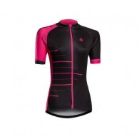 Tricou ciclism damă MERIDA 190 roz/negru mărime M