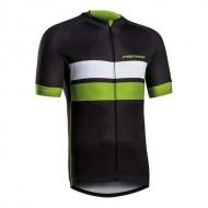 Tricou ciclism MERIDA 278 Gravel negru/verde/alb mărime L