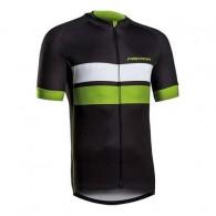Tricou ciclism MERIDA 278 Gravel negru/verde/alb mărime XL