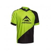Tricou ciclism MERIDA Freeride Enduro verde/negru mărime L