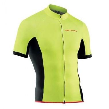 Tricou ciclism NORTHWAVE Force galben mărime M