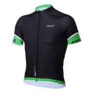 Tricou ciclism BBB BBW-246 Comfort Fit negru/verde mărimea XL