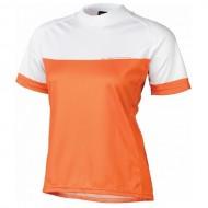 Tricou ciclism damă KROSS Roamer Lady portocaliu