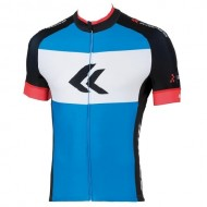Tricou ciclism KROSS Race Pro albastru