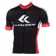Tricou ciclism KROSS Race Pro negru