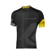 Tricou ciclism KROSS Race galben