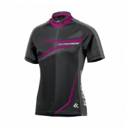 Tricou ciclism damă KROSS Lea violet