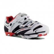 Pantofi de damă NORTHWAVE MTB Katana SRS negru-alb-roșu mărime 36
