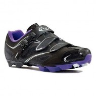 Pantofi de damă NORTHWAVE MTB Katana SRS negru-violet mărime 36