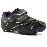 Pantofi de damă NORTHWAVE MTB Katana 3S negru-violet