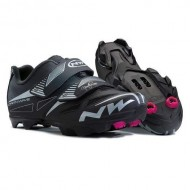 Pantofi de damă NORTHWAVE MTB Elisir EVO negru