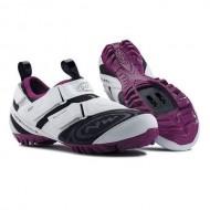 Pantofi de damă NORTHWAVE Trekking Multi-app alb-violet