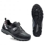 Pantofi all terrain NORTHWAVE Mission Plus negru mărime 43