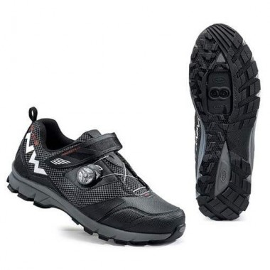 Pantofi all terrain NORTHWAVE Mission Plus negru