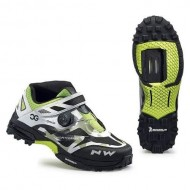 Pantofi all terrain NORTHWAVE Enduro Mid camo-alb-negru