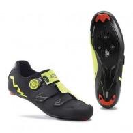 Pantofi NORTHWAVE Road Phantom Carbon negru-galben mărime 43,5