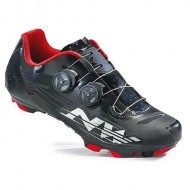 Pantofi NORTHWAVE MTB Blaze Plus negru-alb-roșu