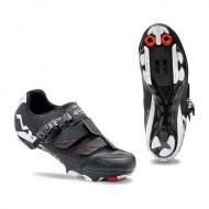 Pantofi de damă NORTHWAVE MTB Sparkle SRS negru-alb