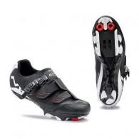 Pantofi de damă NORTHWAVE MTB Sparkle SRS negru-alb mărime 36