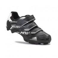Pantofi de damă NORTHWAVE MTB Katana 2 3S negru-alb mărime 36