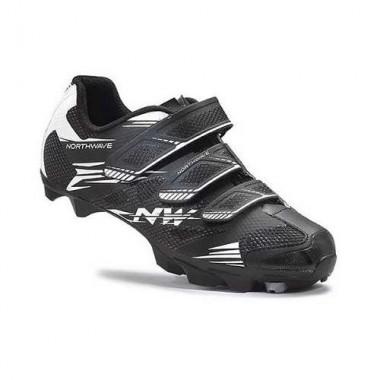 Pantofi de damă NORTHWAVE MTB Katana 2 3S negru-alb