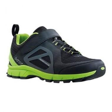 Pantofi all terrain NORTHWAVE Escape Evo negru-verde